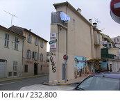 Купить «Плоский дом. Antibes. Франция», фото № 232800, снято 7 марта 2005 г. (c) Екатерина Овсянникова / Фотобанк Лори