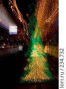 Купить «Рождественские огни», фото № 234732, снято 20 июля 2018 г. (c) Кравецкий Геннадий / Фотобанк Лори