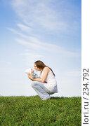 Купить «Материнская любовь», фото № 234792, снято 26 апреля 2018 г. (c) Андрей Щекалев (AndreyPS) / Фотобанк Лори