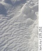 Купить «Снег», фото № 235252, снято 16 августа 2018 г. (c) griFFon / Фотобанк Лори