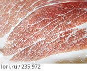 Купить «Свинина», фото № 235972, снято 22 января 2018 г. (c) Роман Сигаев / Фотобанк Лори