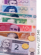 Купить «Эстонские кроны. Деньги Эстонской Республики», фото № 237540, снято 30 марта 2008 г. (c) Игорь Соколов / Фотобанк Лори