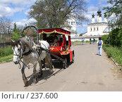 Купить «Суздаль. Катание на лошадях», фото № 237600, снято 11 июня 2007 г. (c) Julia Nelson / Фотобанк Лори