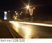 Купить «Улица Ленина. Нижневартовск. Ночь», фото № 238520, снято 18 апреля 2018 г. (c) Нурулин Андрей / Фотобанк Лори