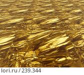 Купить «Золото. Абстрактный фон», иллюстрация № 239344 (c) ElenArt / Фотобанк Лори