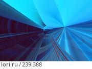 Купить «Синий абстрактный фон», иллюстрация № 239388 (c) ElenArt / Фотобанк Лори