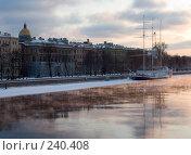 Купить «Санкт-Петербург. Адмиралтейская набережная.», фото № 240408, снято 5 февраля 2006 г. (c) Инга Лексина / Фотобанк Лори