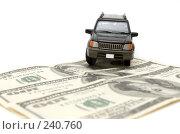 Купить «Деньги и автомобиль», фото № 240760, снято 21 июля 2019 г. (c) паша семенов / Фотобанк Лори