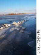 Купить «Весенняя река», фото № 240916, снято 22 января 2018 г. (c) Кравецкий Геннадий / Фотобанк Лори