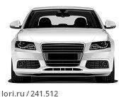 Купить «Автомобиль бизнес-класса. Вектор», иллюстрация № 241512 (c) Nelli / Фотобанк Лори