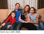 Купить «Семейный портрет», фото № 241568, снято 26 января 2008 г. (c) Морозова Татьяна / Фотобанк Лори