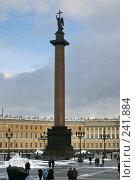Купить «Санкт-Петербург. Александрийский столп», фото № 241884, снято 23 мая 2018 г. (c) Александр Секретарев / Фотобанк Лори