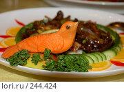 Купить «Красиво оформленное блюдо», фото № 244424, снято 25 декабря 2007 г. (c) Golden_Tulip / Фотобанк Лори