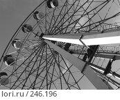 Купить «Колесо обозрения», фото № 246196, снято 5 сентября 2005 г. (c) Мельник Ирина / Фотобанк Лори