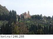 Купить «Ново-Афонский Симоно-Кананитский монастырь», фото № 246288, снято 22 марта 2008 г. (c) Лифанцева Елена / Фотобанк Лори
