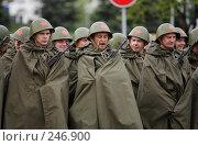 Купить «Солдаты. Ожидание», фото № 246900, снято 5 апреля 2020 г. (c) Андрей Доронченко / Фотобанк Лори