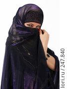 Купить «Девушка в платье из Туниса», фото № 247840, снято 8 апреля 2008 г. (c) Михаил Мандрыгин / Фотобанк Лори