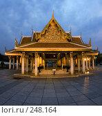 Купить «Буддистский храм в Бангкоке», фото № 248164, снято 11 марта 2008 г. (c) Татьяна Белова / Фотобанк Лори