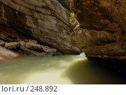 Купить «Республика Адыгея. Гуамское ущелье - ущелье реки Курджипс», фото № 248892, снято 1 мая 2006 г. (c) Виктор Филиппович Погонцев / Фотобанк Лори