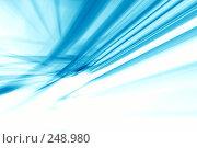Купить «Голубая абстракция», иллюстрация № 248980 (c) ElenArt / Фотобанк Лори
