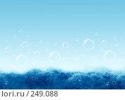 Купить «Вода и мыльные пузыри», фото № 249088, снято 17 августа 2018 г. (c) ElenArt / Фотобанк Лори