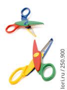 Купить «Детские ножницы, крупный план», фото № 250900, снято 12 апреля 2008 г. (c) Угоренков Александр / Фотобанк Лори