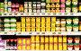 Полки продуктового магазина, фото № 251252, снято 27 января 2008 г. (c) Николай Коржов / Фотобанк Лори