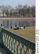 Купить «Санкт-Петербург.  у Петропавловской крепости», фото № 251272, снято 5 апреля 2008 г. (c) Александр Секретарев / Фотобанк Лори