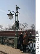 Купить «Санкт-Петербург. Фонарь на мосту Петропавловской крепости», фото № 251304, снято 5 апреля 2008 г. (c) Александр Секретарев / Фотобанк Лори
