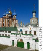 Купить «Панорама Рязанского кремля», фото № 251896, снято 29 марта 2008 г. (c) УНА / Фотобанк Лори