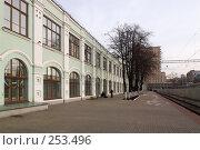 Купить «Москва. Рижский вокзал, перрон», фото № 253496, снято 22 марта 2008 г. (c) Дмитрий Яковлев / Фотобанк Лори