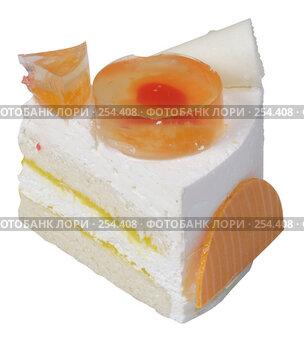 Купить «Кусочек торта», эксклюзивное фото № 254408, снято 8 июня 2006 г. (c) Дмитрий Неумоин / Фотобанк Лори