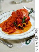 Купить «Фаршированный перец», фото № 254704, снято 3 марта 2007 г. (c) Илья Лиманов / Фотобанк Лори