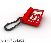 Купить «Красный телефон», фото № 254952, снято 24 июня 2019 г. (c) Фролов Андрей / Фотобанк Лори