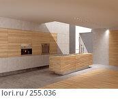 Кухня с окном в потолке, иллюстрация № 255036 (c) Юрий Бельмесов / Фотобанк Лори