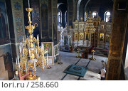 Купить «Пермский Свято-Троицкий кафедральный собор, внутреннее убранство», фото № 258660, снято 17 апреля 2008 г. (c) Владимир Власов / Фотобанк Лори