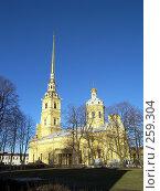 Купить «Собор Петра и Павла», фото № 259304, снято 26 февраля 2008 г. (c) Бяков Вячеслав / Фотобанк Лори