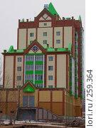 Купить «Дом с зеленой крышей», фото № 259364, снято 21 апреля 2008 г. (c) Андрей Николаев / Фотобанк Лори