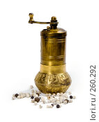 Купить «Ручная мельница для специй», фото № 260292, снято 20 апреля 2008 г. (c) Татьяна Белова / Фотобанк Лори