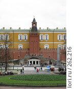 Купить «Вид на башню и грот. Москва, Кремль», фото № 262216, снято 19 апреля 2008 г. (c) Мария Коробкина / Фотобанк Лори