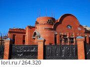 Купить «Строительство Храма во имя Собора Московских Святых в Бибирево», эксклюзивное фото № 264320, снято 25 апреля 2008 г. (c) Алёшина Оксана / Фотобанк Лори
