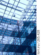 Купить «Стеклянная конструкция интерьера», фото № 265428, снято 26 апреля 2008 г. (c) Astroid / Фотобанк Лори