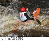 Купить «Покорение потока», фото № 265596, снято 29 марта 2008 г. (c) Игорь Паршин / Фотобанк Лори