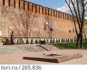 Купить «Город Смоленск.  Крепостная стена», фото № 265836, снято 26 апреля 2008 г. (c) Примак Полина / Фотобанк Лори