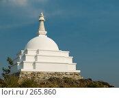 Купить «Буддийская ступа», фото № 265860, снято 4 сентября 2007 г. (c) Andrey M / Фотобанк Лори