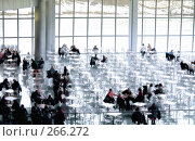 Купить «Кафе в коммерческом центре», фото № 266272, снято 23 февраля 2008 г. (c) Литова Наталья / Фотобанк Лори
