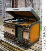 Купить «Старая радиола ''Минск Р7''», фото № 266696, снято 28 января 2020 г. (c) Светлана Кучинская / Фотобанк Лори