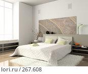 Купить «Интерьер спальни», иллюстрация № 267608 (c) Hemul / Фотобанк Лори
