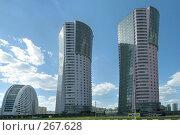 Высотные новостройки на Ходынке, Москва, фото № 267628, снято 27 апреля 2008 г. (c) Fro / Фотобанк Лори