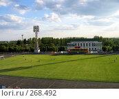 Футбольный стадион. Стоковое фото, фотограф Вячеслав Паслёнов / Фотобанк Лори